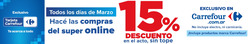 Cupón Carrefour Market en Avellaneda (Buenos Aires) ( 3 días publicado )