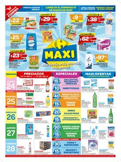 Ofertas de Snacks y frutos secos en Carrefour Maxi