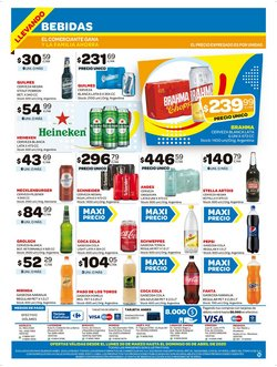 Ofertas de Coca-Cola Light en Carrefour Maxi