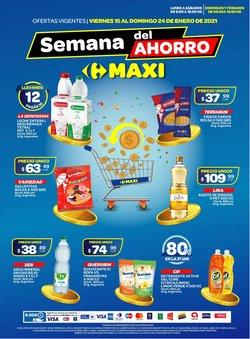 Catálogo Carrefour Maxi en Godoy Cruz ( 2 días publicado )