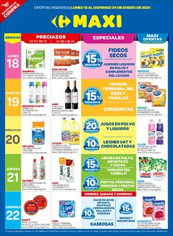 Ofertas de Fideos en Carrefour Maxi