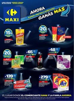 Ofertas de Hiper-Supermercados en el catálogo de Carrefour Maxi en Tortuguitas ( Publicado ayer )