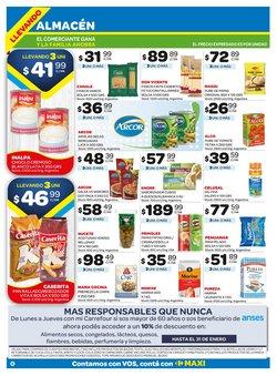 Ofertas de Galletas saladas en Carrefour Maxi