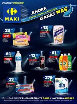 Ofertas de Hiper-Supermercados en el catálogo de Carrefour Maxi en Mendoza ( Caduca mañana )