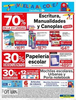 Ofertas de Mochilas escolares en Carrefour Maxi