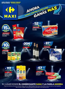 Ofertas de Pastas en Carrefour Maxi
