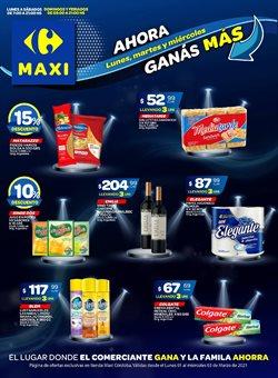 Ofertas de Hiper-Supermercados en el catálogo de Carrefour Maxi en Córdoba ( Caduca mañana )