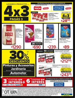 Ofertas de Alimento para animales en Carrefour Maxi
