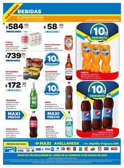 Ofertas de Coca-Cola en Carrefour Maxi