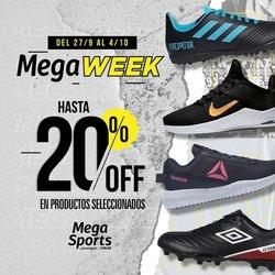 Ofertas de Mega Sport en el catálogo de Mega Sport ( Vencido)