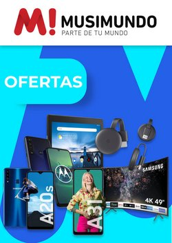 Ofertas de Electrónica y Electrodomésticos en el catálogo de Musimundo en Olivos ( Caduca hoy )