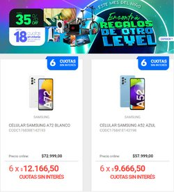 Ofertas de Samsung en el catálogo de Musimundo ( Publicado ayer)