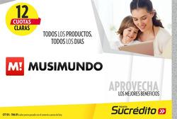Ofertas de Musimundo  en el folleto de Córdoba