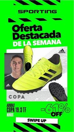 Ofertas de Adidas en el catálogo de Sporting ( 7 días más)