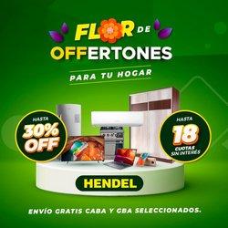 Ofertas de Hendel en el catálogo de Hendel ( 6 días más)