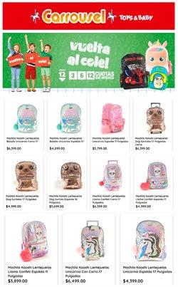 Ofertas de Juguetes, Niños y Bebés en el catálogo de Jugueterias Carrousel ( 16 días más )