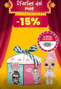 Ofertas de Juguetes, Niños y Bebés en el catálogo de Jugueterias Carrousel ( 7 días más)