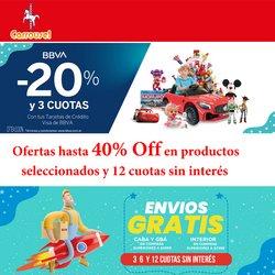 Ofertas de Juguetes, Niños y Bebés en el catálogo de Jugueterias Carrousel ( 11 días más)