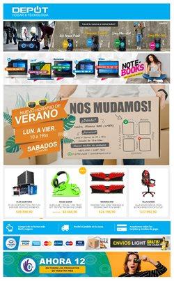 Ofertas de Electrónica y Electrodomésticos en el catálogo de Depot en Microcentro ( Caduca mañana )