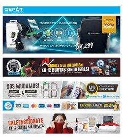 Ofertas de Electrónica y Electrodomésticos en el catálogo de Depot ( Vence hoy)