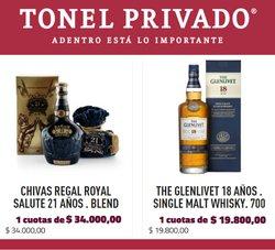 Catálogo Tonel Privado ( Más de un mes)