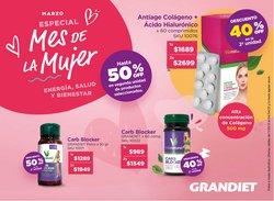 Ofertas de Perfumería y Maquillaje en el catálogo de Grandiet en Rosario ( 29 días más )