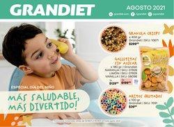 Ofertas de Perfumería y Maquillaje en el catálogo de Grandiet ( Publicado hoy)
