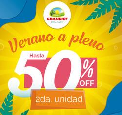 Cupón Grandiet en Mendoza ( 8 días más )