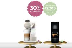 Ofertas de Nespresso  en el folleto de Villa Carlos Paz