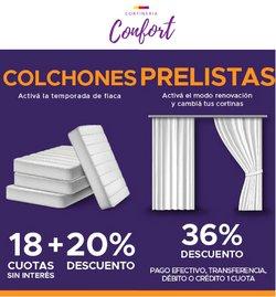 Ofertas de Cortinería Confort en el catálogo de Cortinería Confort ( 10 días más)