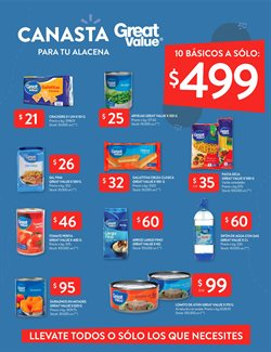 Ofertas de Great Value en Walmart