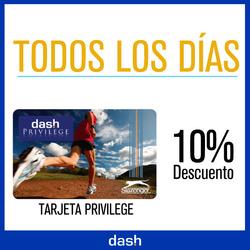Ofertas de Dash Deportes  en el folleto de Concepción del Uruguay