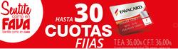 Ofertas de Fava  en el folleto de Mar del Plata