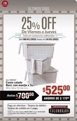 Ofertas de Muebles y Decoración en el catálogo de Colombraro en San Cristóbal (Buenos Aires) ( 2 días más )
