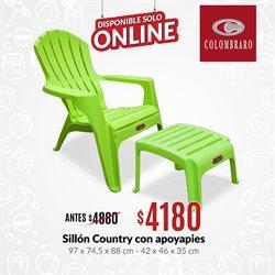Ofertas de Muebles y Decoración en el catálogo de Colombraro en San Luis ( Caduca hoy )