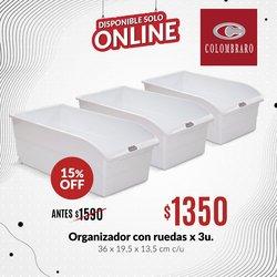 Ofertas de Colombraro en el catálogo de Colombraro ( Vencido)
