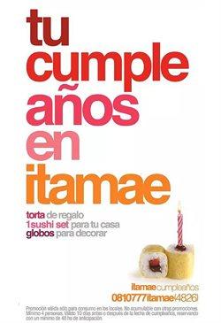 Ofertas de Restaurantes  en el folleto de Itamae Sushi en Castelar