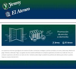 Ofertas de Yenny El Ateneo en el catálogo de Yenny El Ateneo ( Vencido)