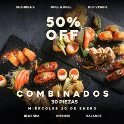 Catálogo Sushi Club en Mendoza ( Caducado )