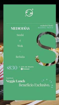Ofertas de Restaurantes en el catálogo de Sushi Club ( 2 días más)