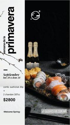 Ofertas de Restaurantes en el catálogo de Sushi Club ( 3 días más)