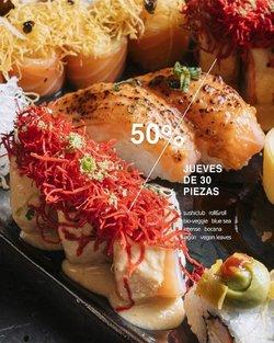 Ofertas de Restaurantes en el catálogo de Sushi Club ( Publicado hoy)
