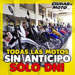 Ofertas de Ciudad Moto  en el folleto de Quilmes