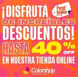 Catálogo Color Shop ( Vence mañana)