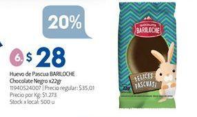 Oferta de Huevo de chocolate Bariloche por $28