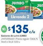 Oferta de Bastón Jumbo por $135