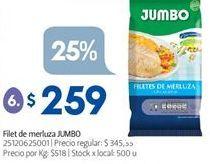 Oferta de Filetes de merluza Jumbo por $259