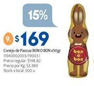 Oferta de Conejo Bon o Bon por $169