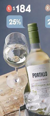 Oferta de Vino Portillo por $184