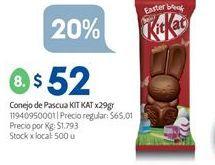 Oferta de Conejo por $52